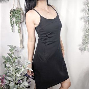 PATAGONIA Tank Dress Black Fitted Activewear 0781